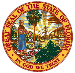 State of Florida Certified logo
